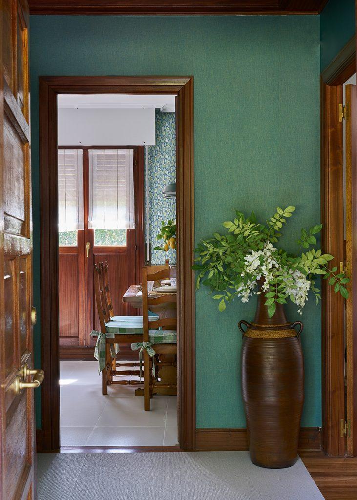 Hall entrada office proyecto interiorismo bizkaia igorre
