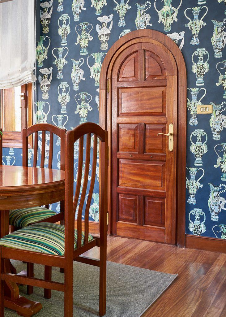 Papel pintado Cole and Son proyecto decoración bizkaia