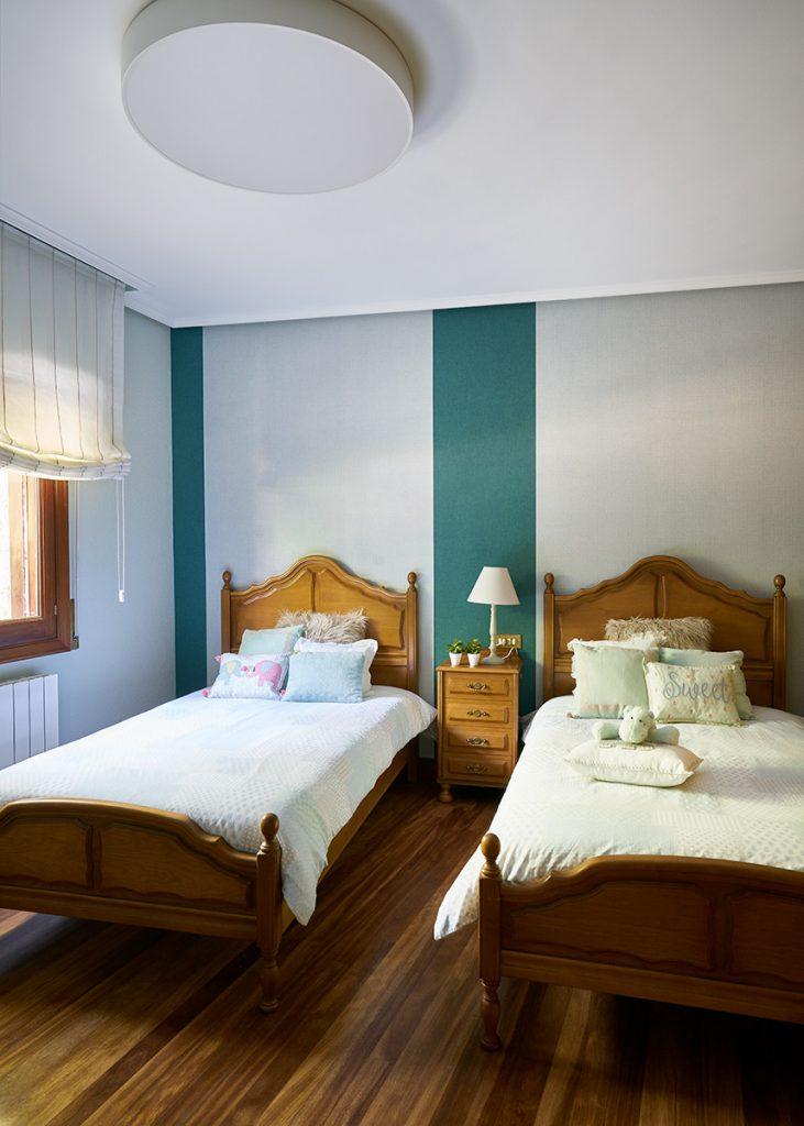 decoración dormitorio invitados bizkaia bilbao