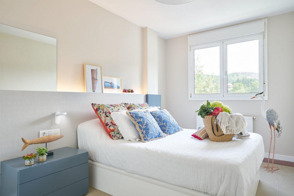 Proyecto de decoración de dormitorio de matrimonio