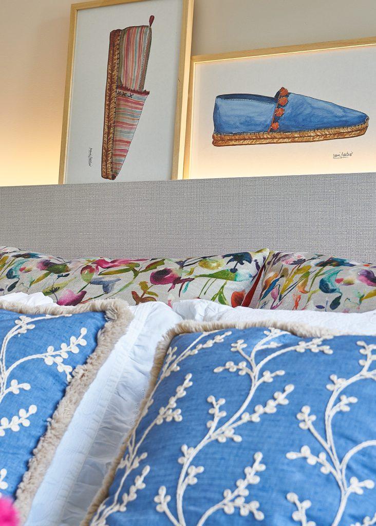 Proyecto decoración dormitorio matrimonio Igorre