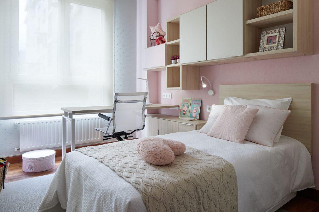 Vista dormitorio juvenil Izarra