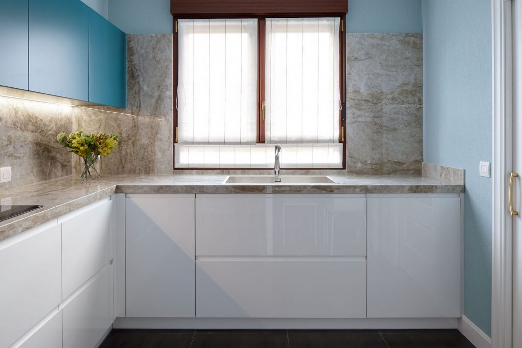 Vista completa cocina casa URDIN