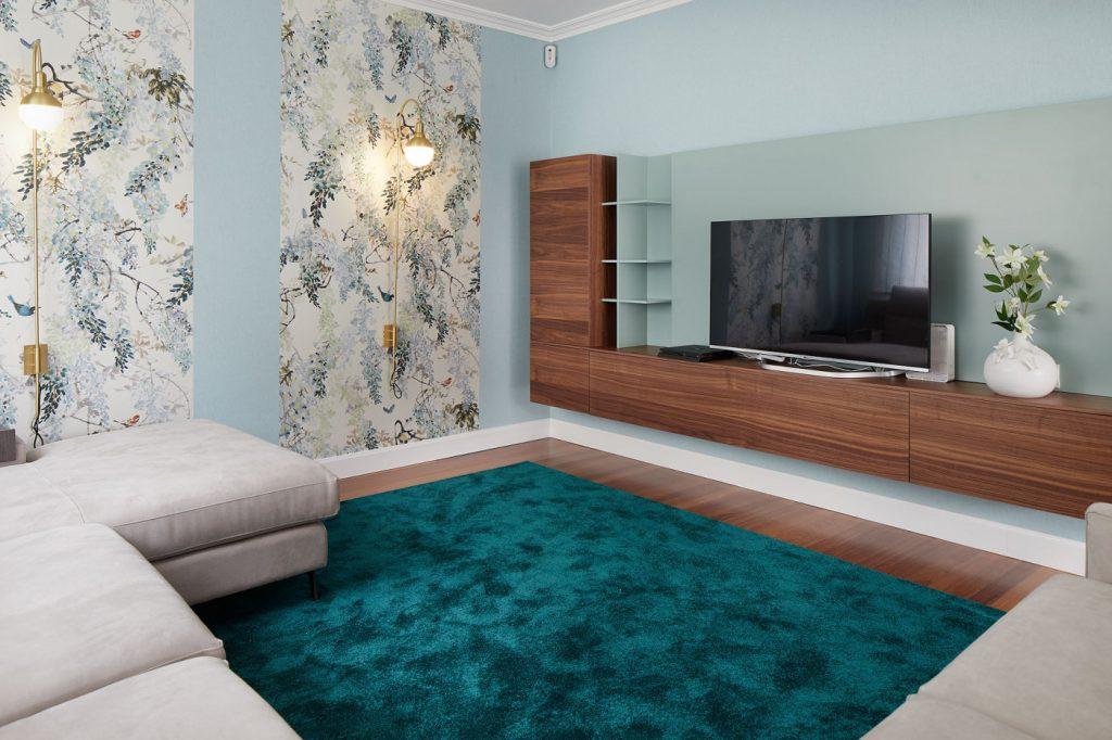Salón mueble televisión Casa URDIN