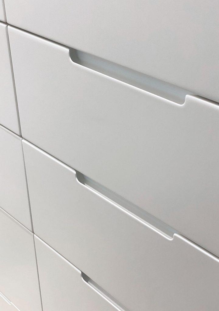 Detalle armario a medida dormitorio Veranera