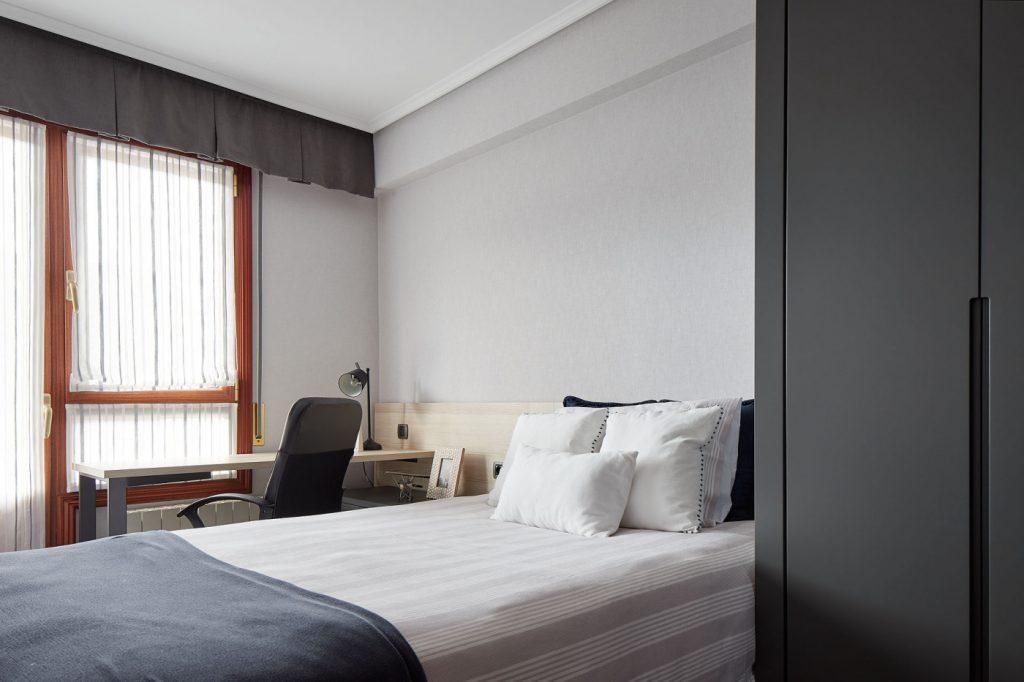 Dormitorios GAZTEA - Dormitorio Antracita vista general
