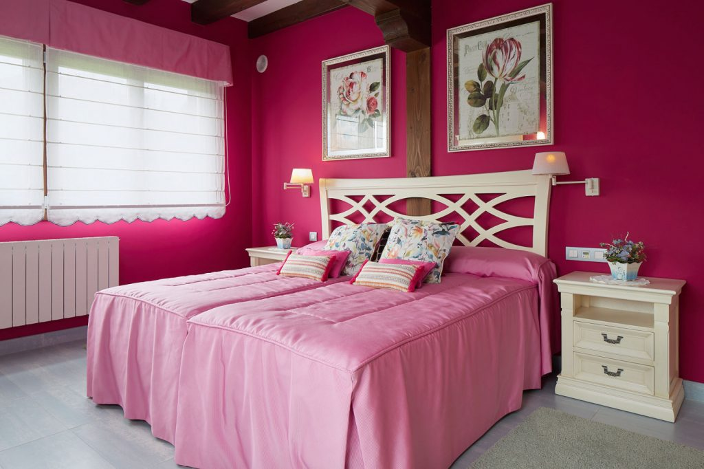 Dormitorio matrimonio Casa Tximeleta