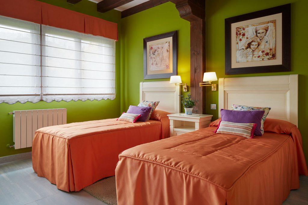 Dormitorio doble Casa Tximeleta
