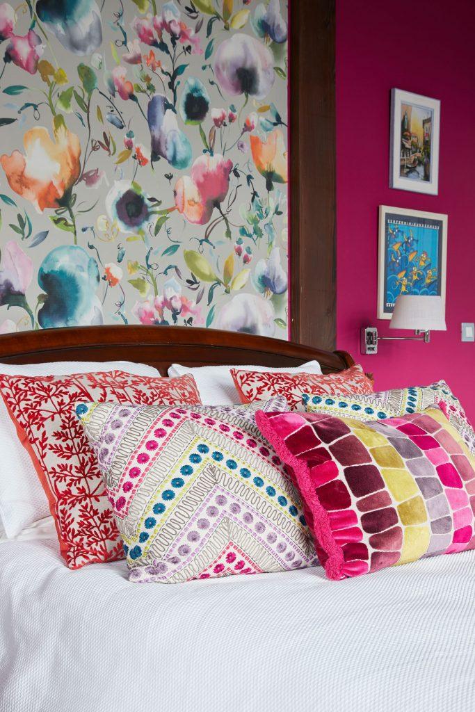 Detalle dormitorio principal Casa Tximeleta