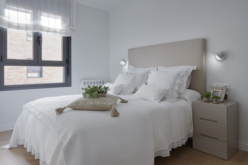Dormitorio principal de Casa Oliva