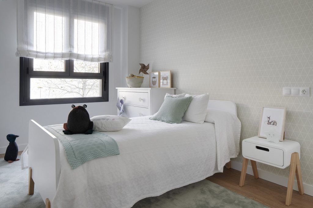 Dormitorio infantil de Casa Oliva