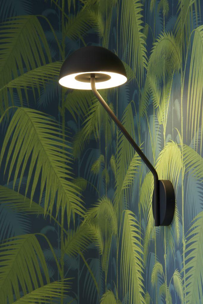 Lámpara de pared de la zona de comedor de Casa SUE