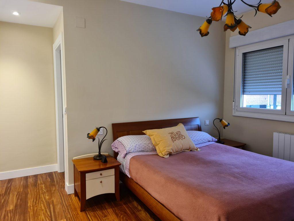 ANTES dormitorio principal de Casa BIZIA