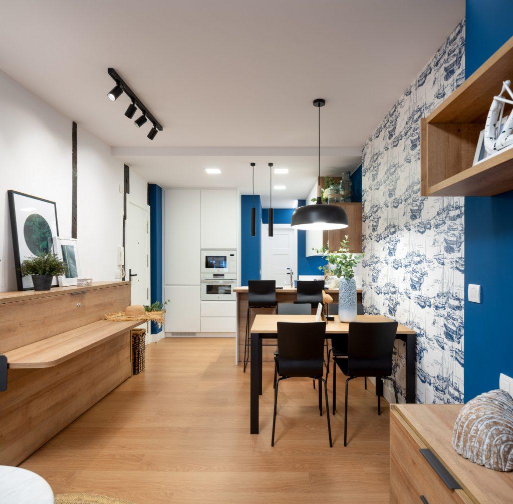 Reforma apartamento en Lekeito por Mugarri
