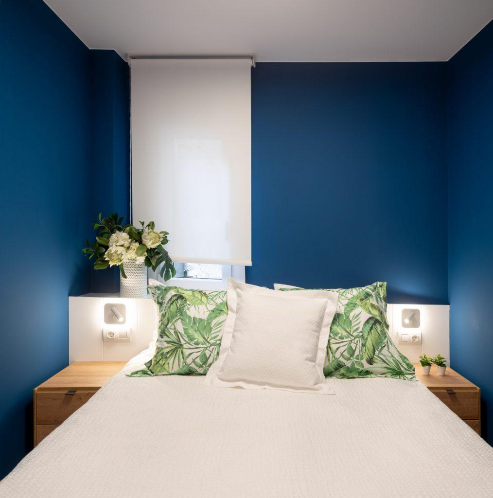 Detalle dormitorio de Casa Noray