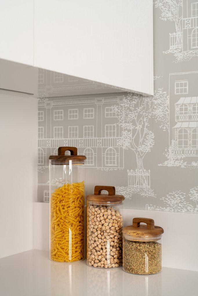Detalle cocina de Casa London